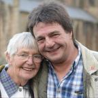 Free Press Series: Kevin Scott, from Portskewett, reunited with his mother Pat Johnson. They are pictured on a day out together at Tintern Abbey. (12159259)