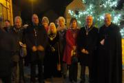 GROUP: A Blessing of the Tree and Carol Service that took place in Old Cwmbran. Pictures by Adrian Smith