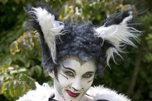 Emma is Purrfect in Whittington Panto Cat Role
