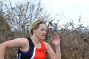 Holly Janes-Thomas shows perfect form on her way to winning the series F1734 category in her debut cross country season