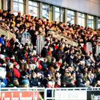 Free Press Series: PACKED HOUSE: Rodney Parade was full to the rafter for the New Year's Day derby between Newport Gwent Dragons and Cardiff Blues