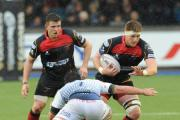EURO SHOWDOWN: Andrew Coombs and the Newport Gwent Dragons pack need to fire against Cardiff Blues on Saturday