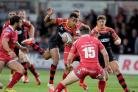 RUTHLESS: Wing Ashton Hewitt aims to help the Dragons take their chances at Leinster