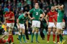 HONOURS EVEN: Wales and Ireland shared the spoils in a tense Six Nations opener