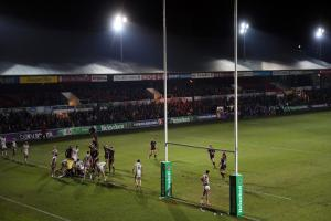 HISTORIC GROUND: The Welsh Rugby Union would buy Rodney Parade under the proposed deal