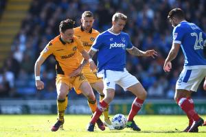 DEFEAT: Tom Owen-Evans in action for Newport County at Portsmouth on Saturday. Picture: Huw Evans Agency