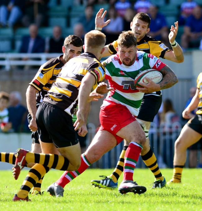 ON THE MOVE: Ebbw Vale captain Ronny Kynes