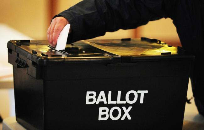Vote in the 2017 local council elections