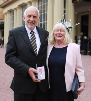 Free Press Series: Cycling legend gets MBE at palace