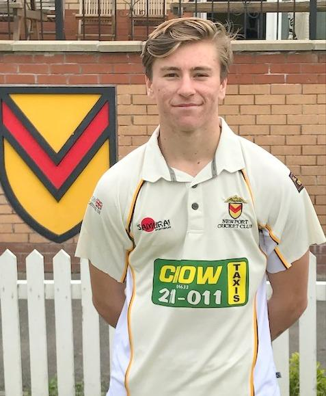 RECORD: Newport's Callum Taylor has had success with the Wales Minor Counties side