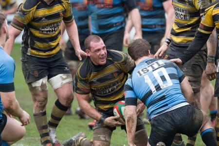 Free Press Series: LEADER: Flanker Rhys Jenkins, pictured celebrating a try against Cardiff, has been named as Newport captain