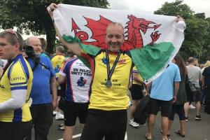 Ex-cop's charity cycle in memory of officers