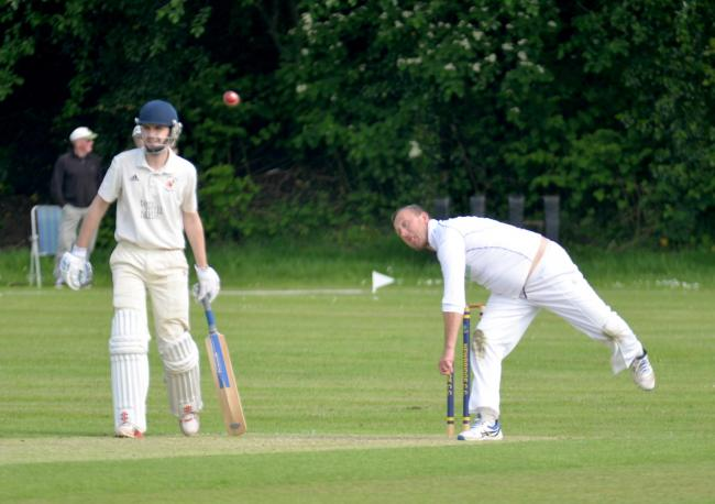 LEADING FROM THE FRONT: Newbridge skipper James Morgan (right)