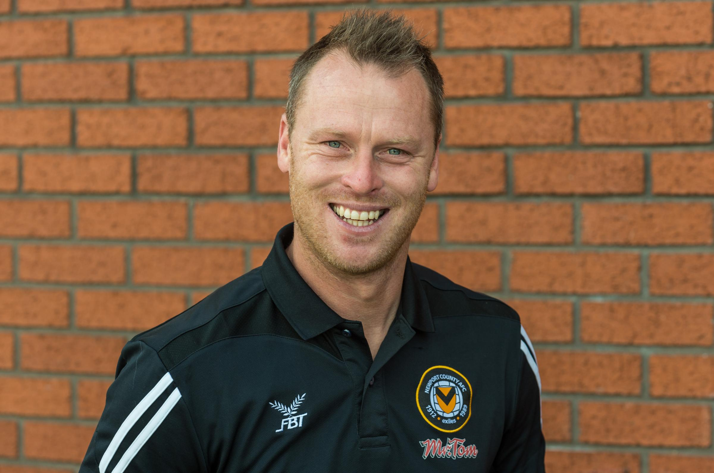 FOCUSED: Newport County boss Michael Flynn has played down Shrewsbury Town 'speculation'