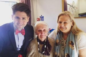 Pontypool X Factor contestant wows residential home