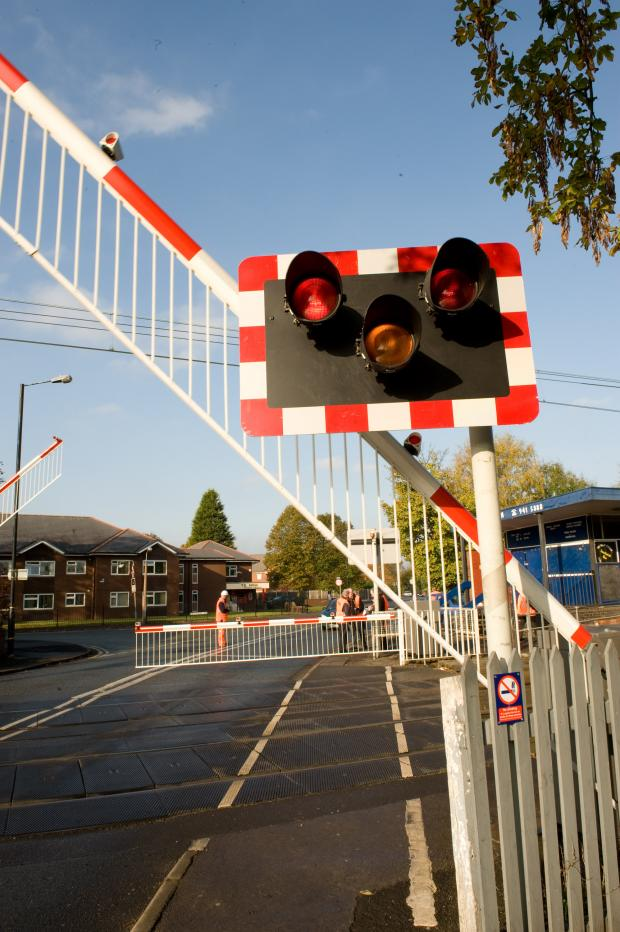 Caldicot level crossing to be closed for work