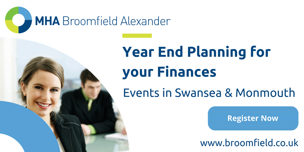 Year End Planning for your Finances (Monmouth)