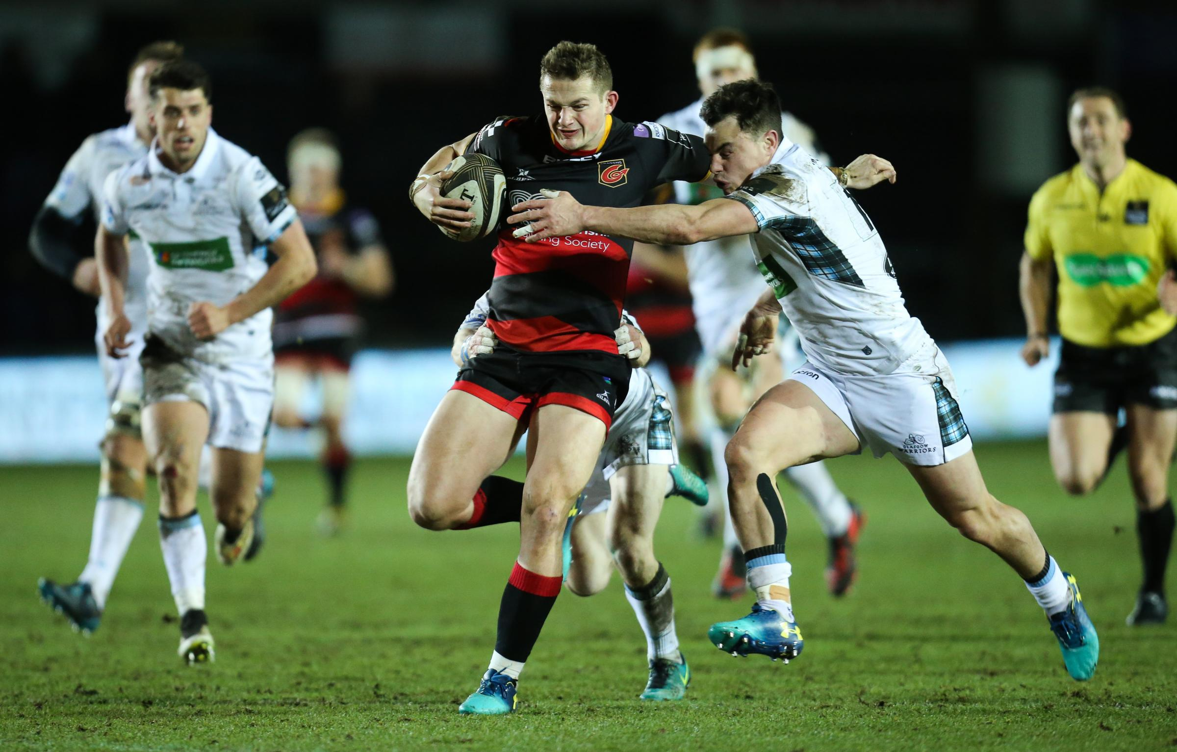 Dragons 15 Glasgow 15: Spoils shared at Rodney Parade