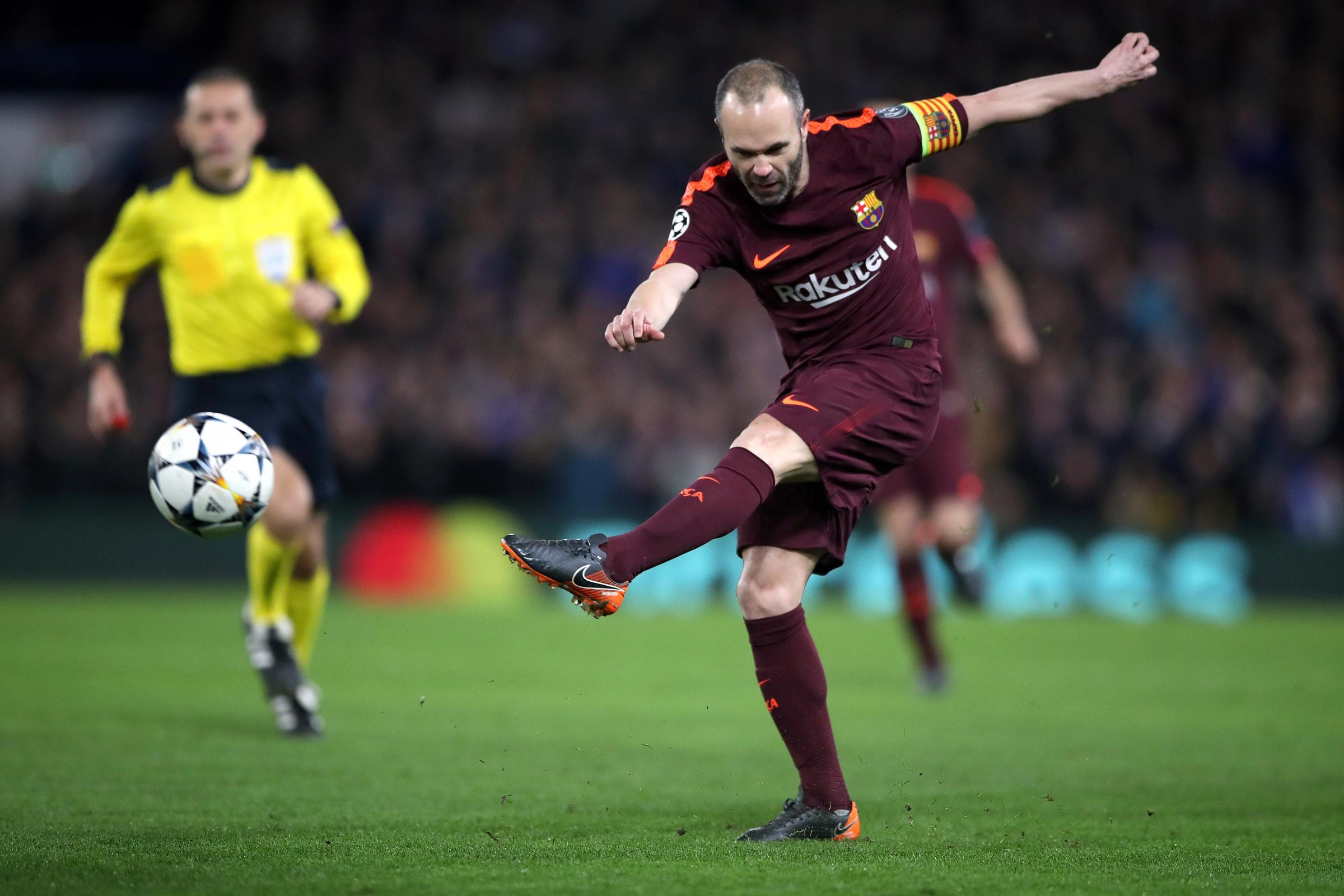 Andres Iniesta is a pivotal player for Barcelona (Nick Potts/PA)