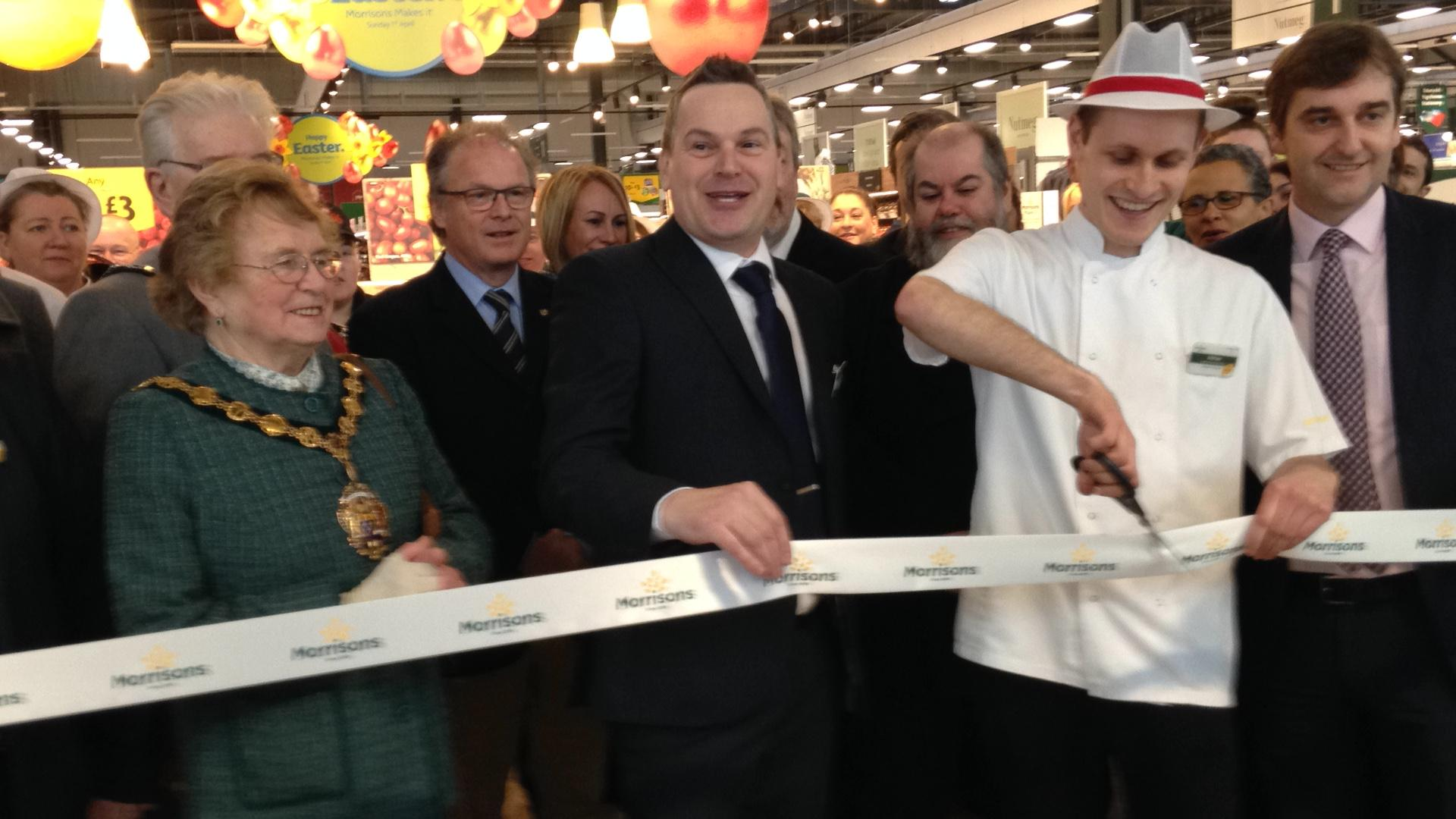 WATCH: Morrisons finally opens long-awaited store in Abergavenny