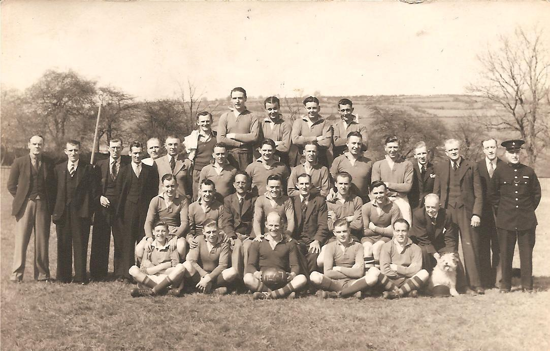 Pontypool United RFC's team from the 1946/1947 season, 1947