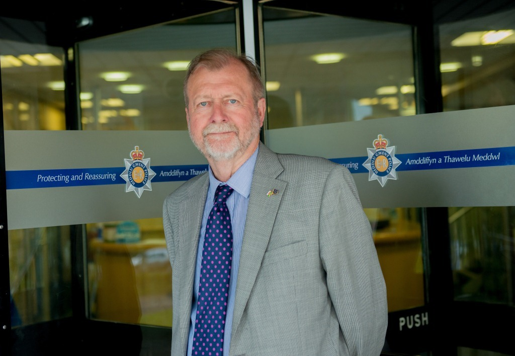 Jeff Cuthbert, the police and crime commissioner for Gwent