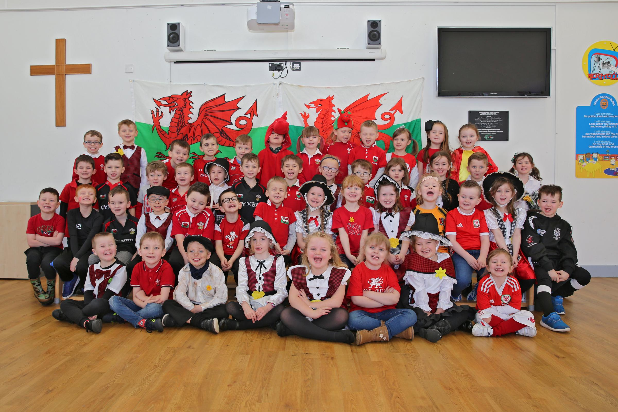 Year 1 at Blaenavon Heritage VC Primary School