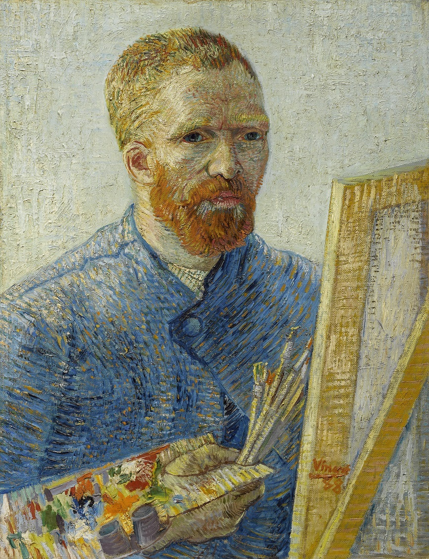 Vincent van Gogh self portrait as a painter 1887-1888 (Van Gogh Museum)
