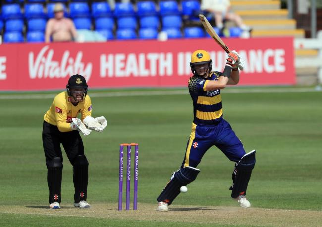 BRIGHT PROSPECT: Aneurin Donald is hoping for a big season with the bat for Glamorgan