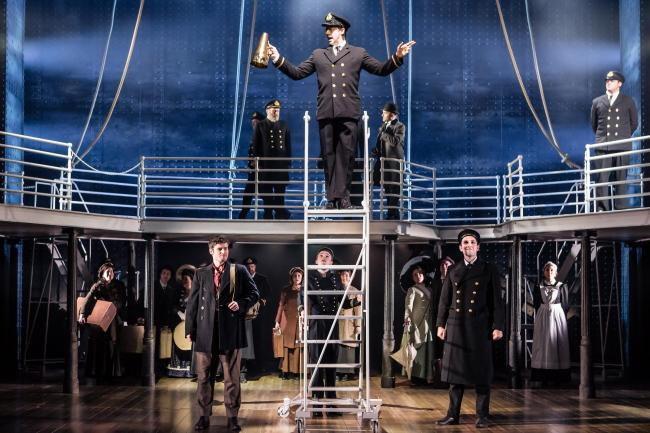SHOW: The cast of Titanic The Musical. Picture: Scott Rylander