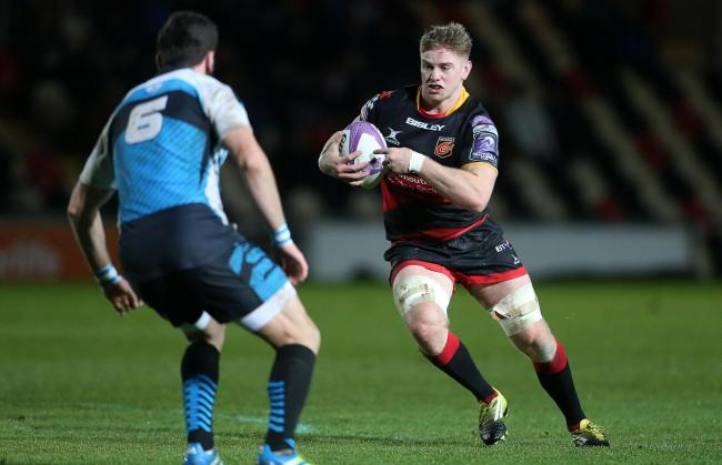 CHANCE TO SHINE: Dragons back rower Aaron Wainwright will hope to get off the bench for Wales in Argentina
