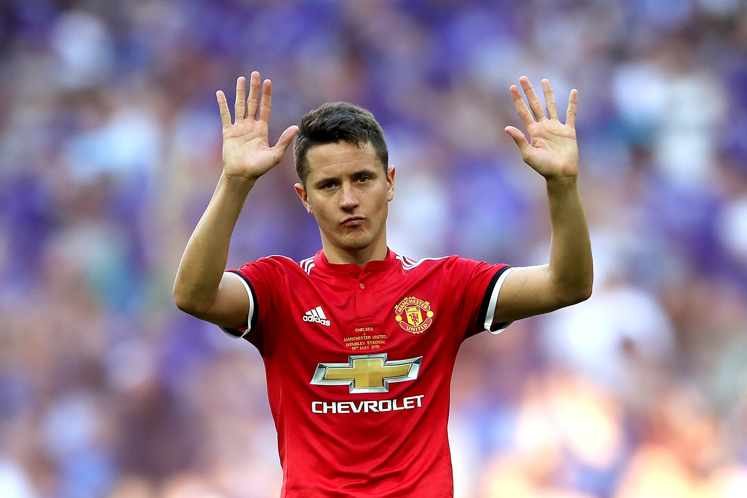 Ander Herrera will concentrate on the positives of Manchester United's season (Nick Potts/PA)