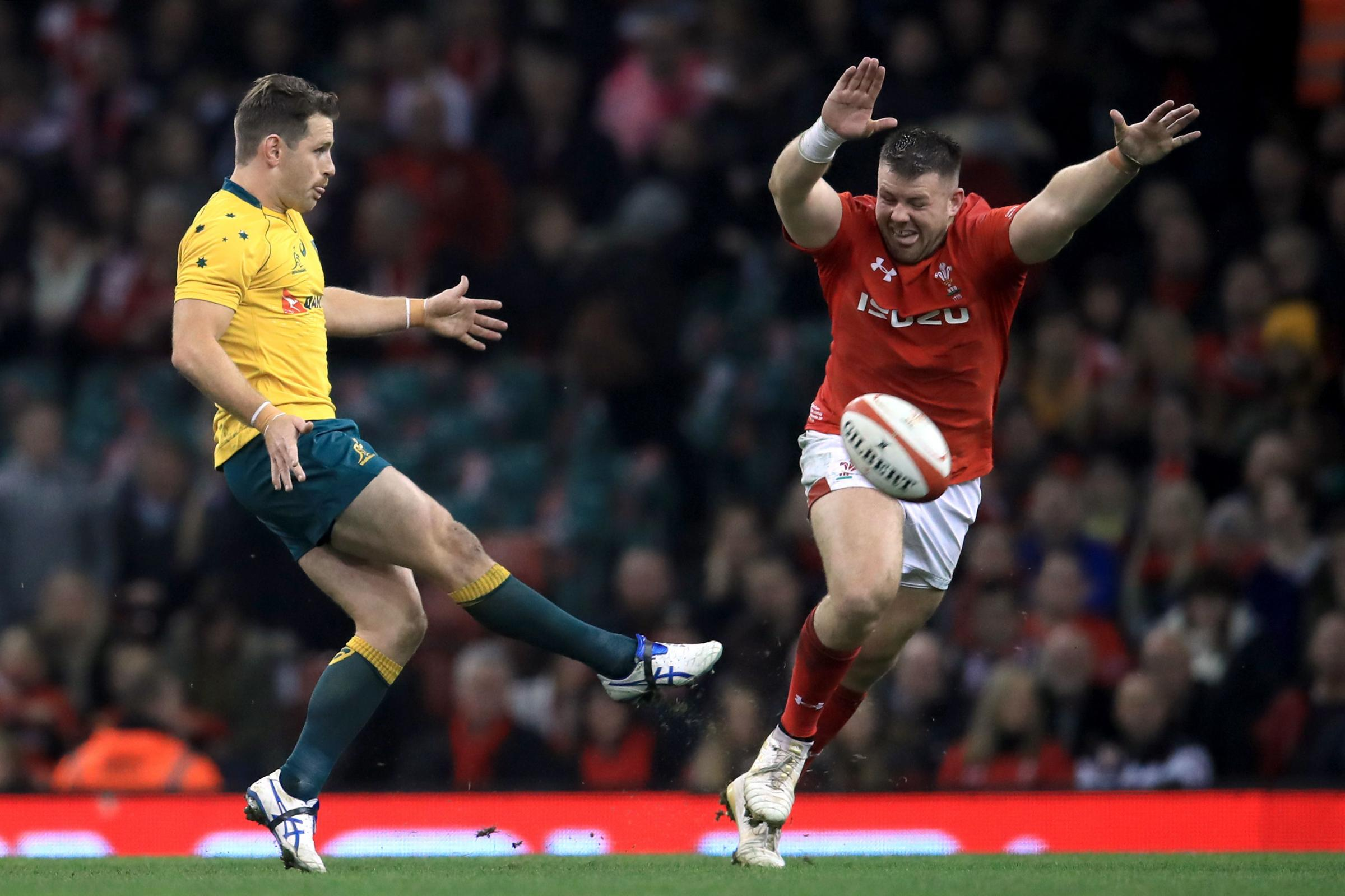 STARTING ROLE: Rob Evans will now start at loosehead for Wales against Argentina