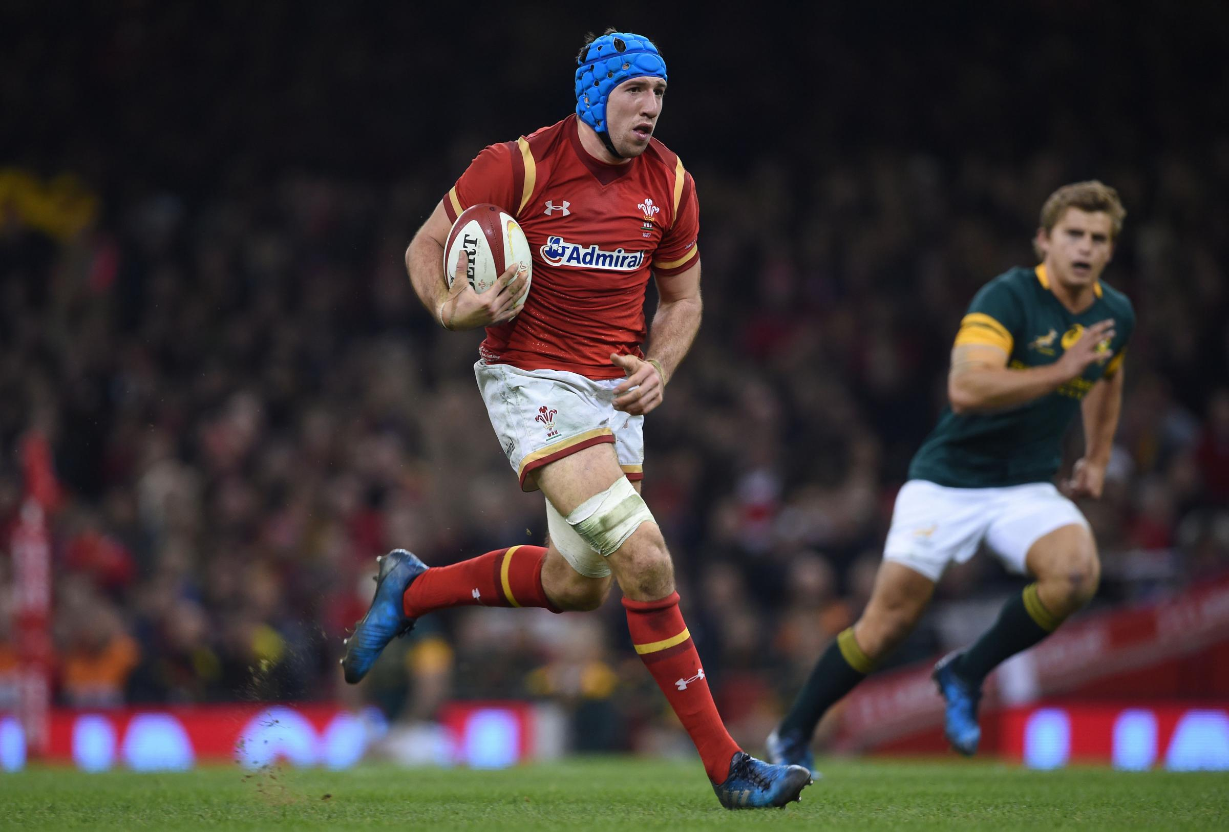 UNDER PRESSURE: Even superb players like Justin Tipuric aren't assured of World Cup selection with Wales