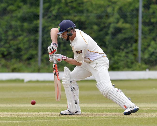 GOOD KNOCK: Mark Wallace scored a useful 38 in Newport's win at Neath last Saturday