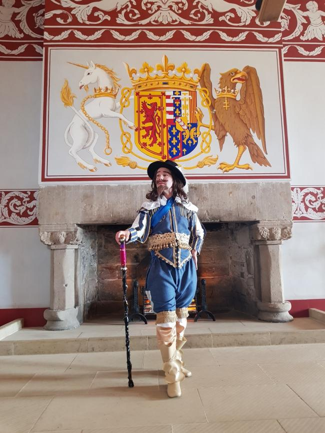 Daniel Williams as King Charles I