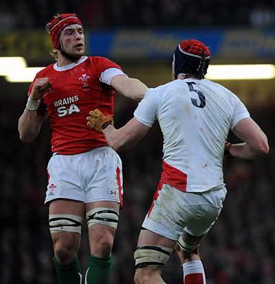 Free Press Series: GRANDSTAND FINISH: Alun Wyn Jones said Wales can deliver on Saturday