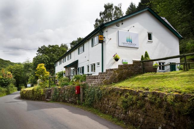 The Michelin-starred Whitebrook Restaurant with Rooms, near Monmouth