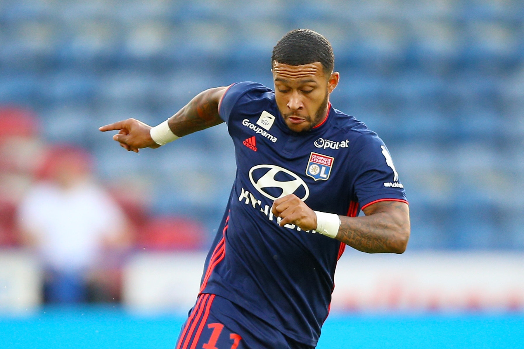 Memphis Depay struggled at Manchester United but is now excelling for Lyon