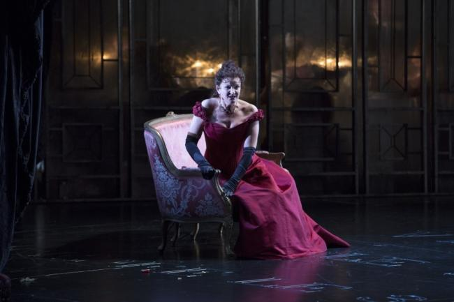 Welsh National Opera's La Traviata at Wales Millennium Centre Picture: WNO