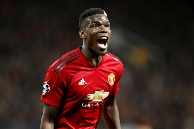 Manchester United's Paul Pogba has been linked with Paris St Germain