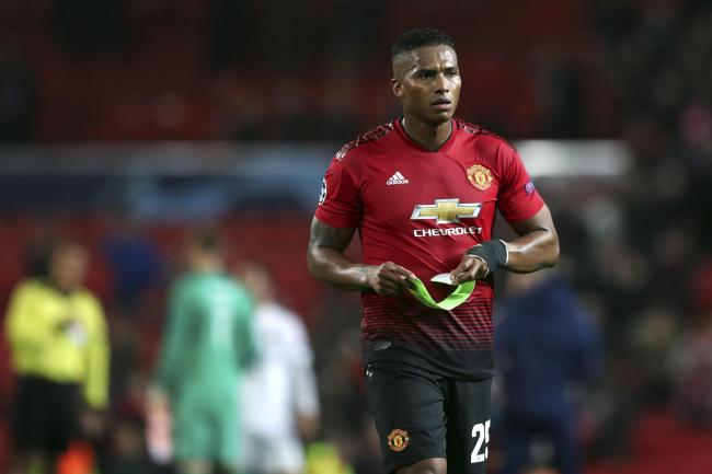 Antonio Valencia's relationship with manager Jose Mourinho is under scruntiny (Jon Super/AP).