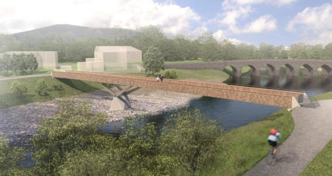 'Once in a lifetime' Abergavenny footbridge gets approval