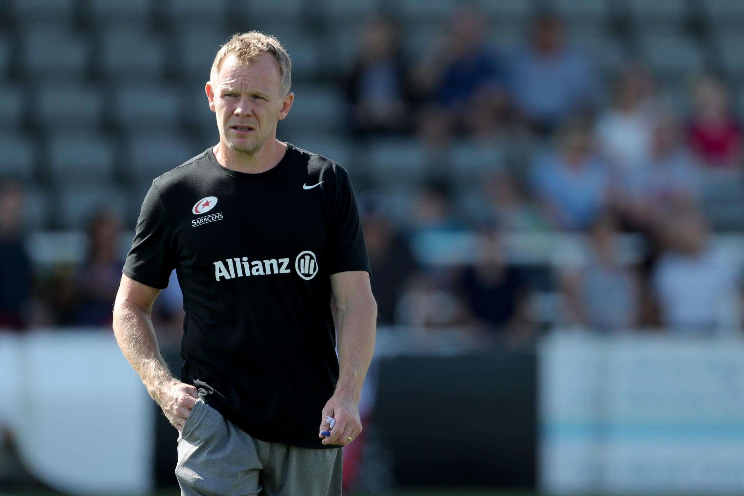 Saracens director of rugby Mark McCall wants his side to make up for last season's European disappointment (Richard Sellers/PA)