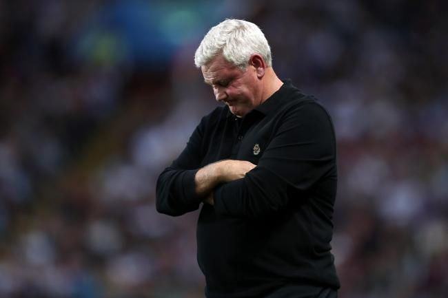 Steve Bruce had been in charge for almost two years at Villa Park
