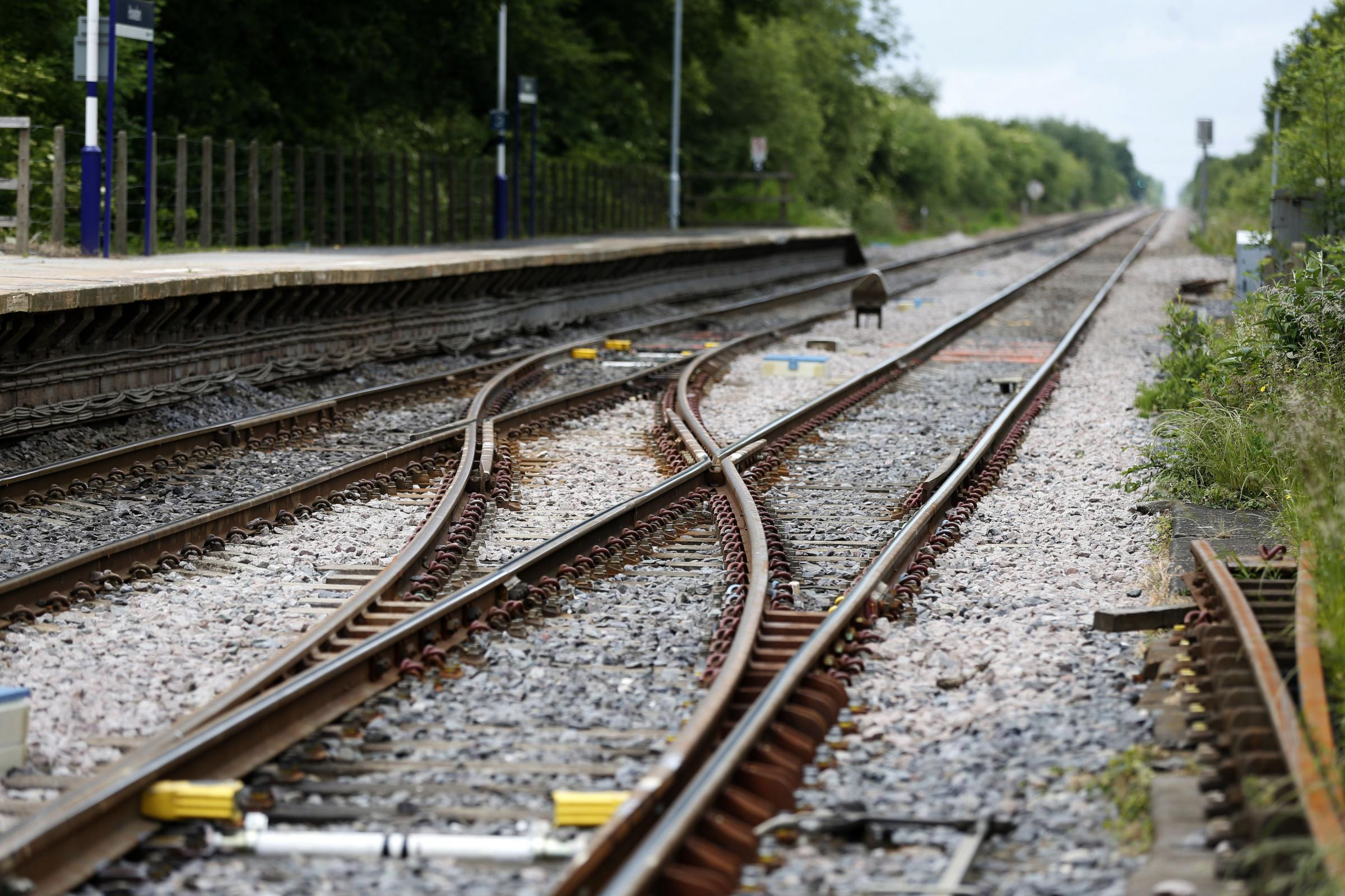 Villagers complain after noisy rail works at 2am leave children 'crying and screaming'. Picture: Lynne Cameron/PA Wire