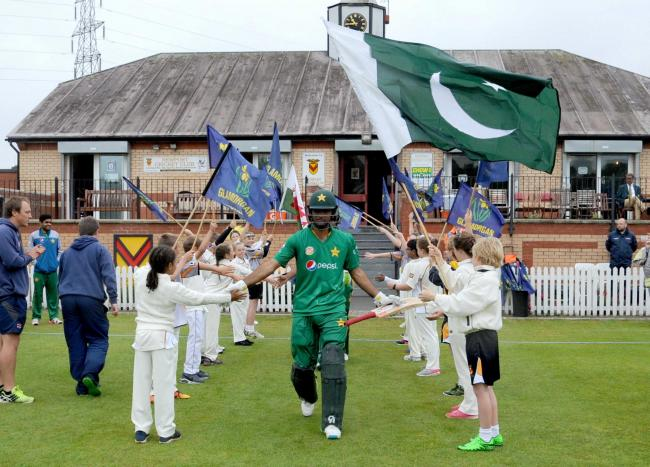 BIG FIXTURE: Spytty Park hosted Pakistan A in 2016