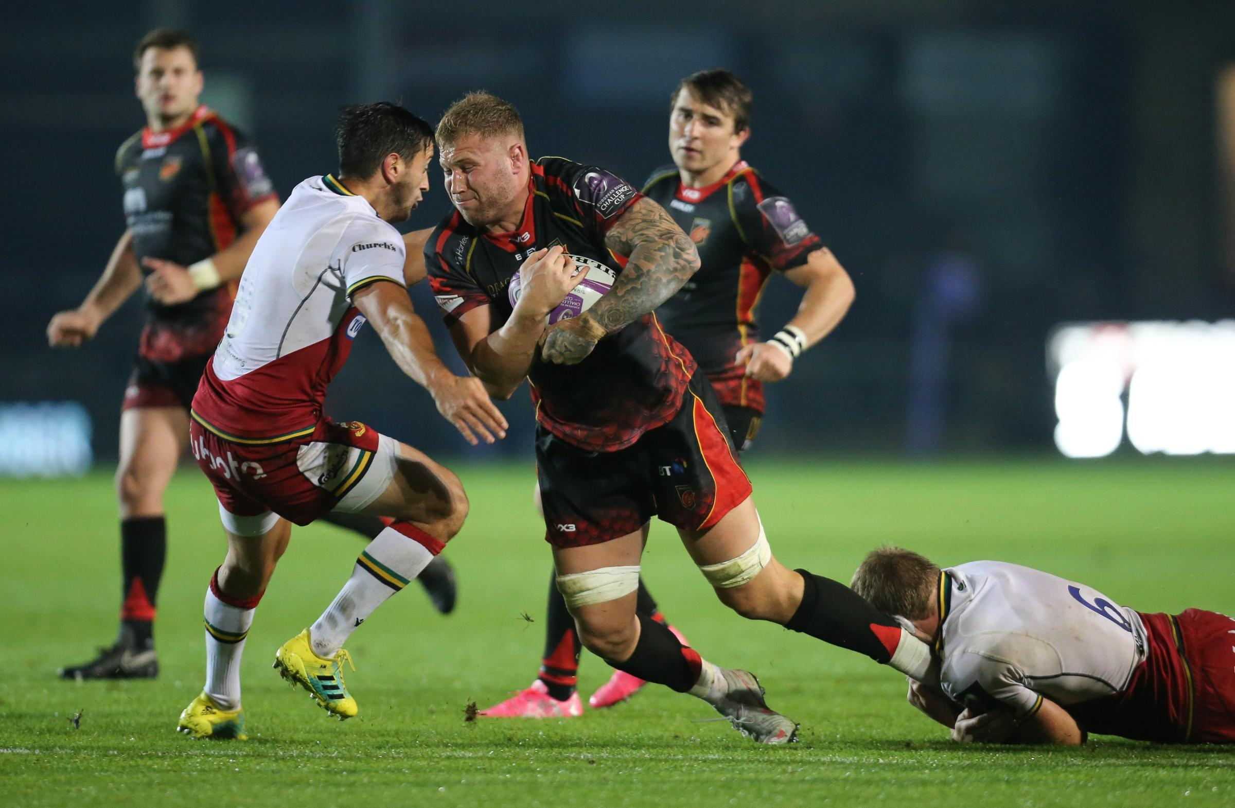 QUALITY PLAYER: Ross Moriarty is a class act but is he a luxury for the Dragons?