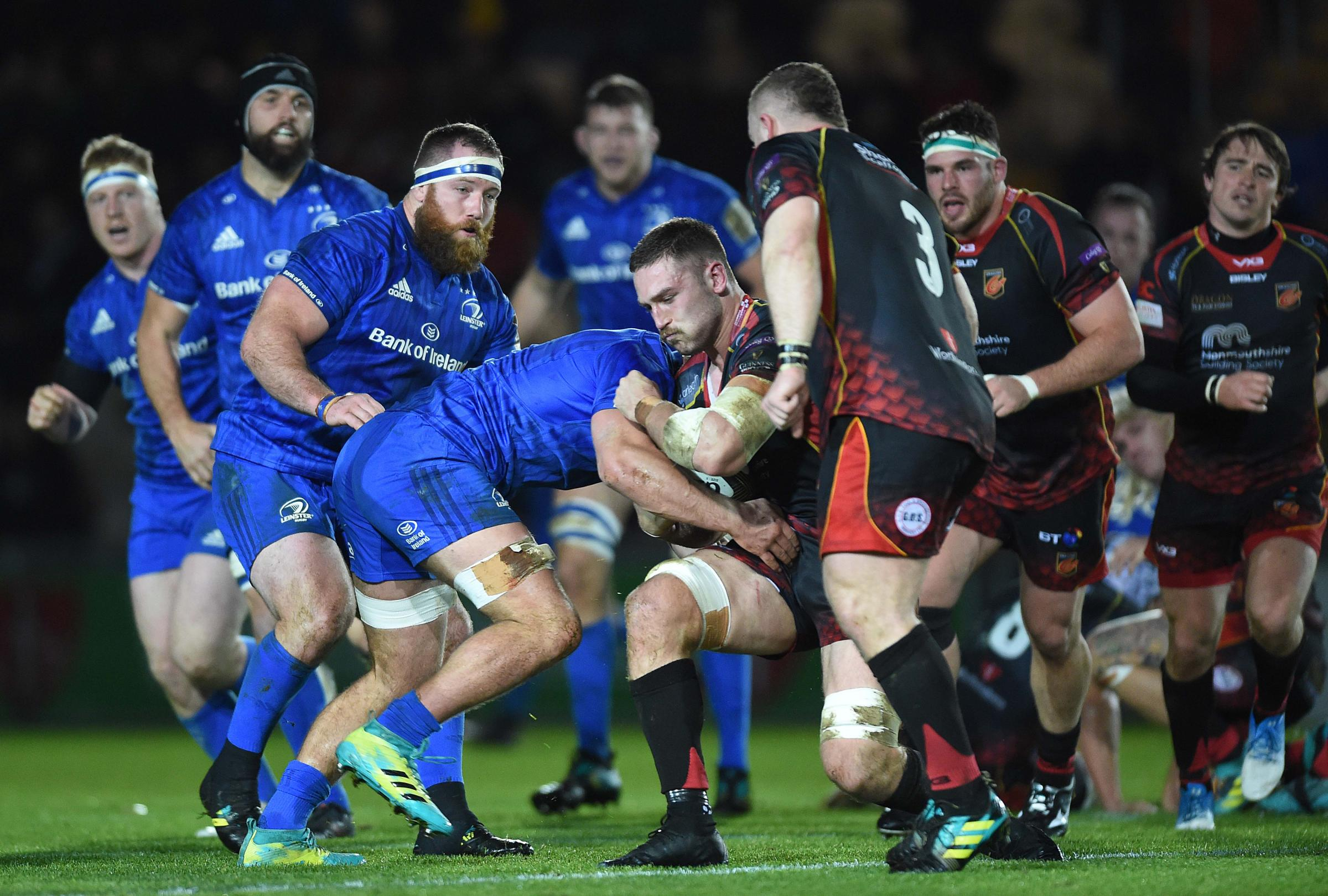 Dragons 10 Leinster 59: Humiliation as champions run riot in Newport