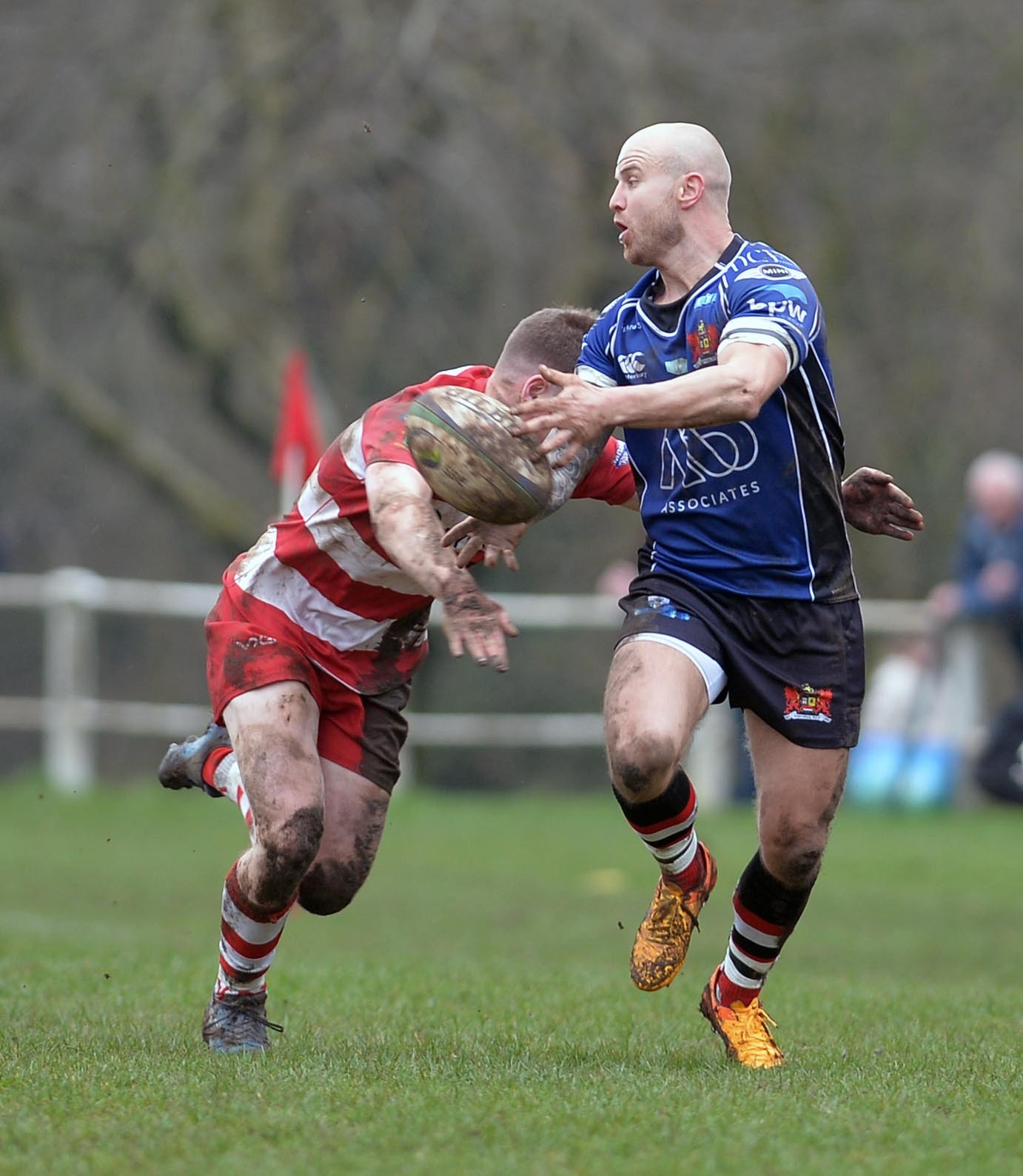 Martin Luckwell was among the Pontypool try scorers against Cwmbran. File picture: christinsleyphotography.co.uk